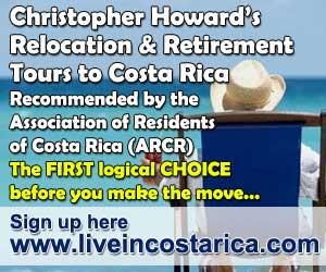 Costa Rica Relocation / Retirement Tours